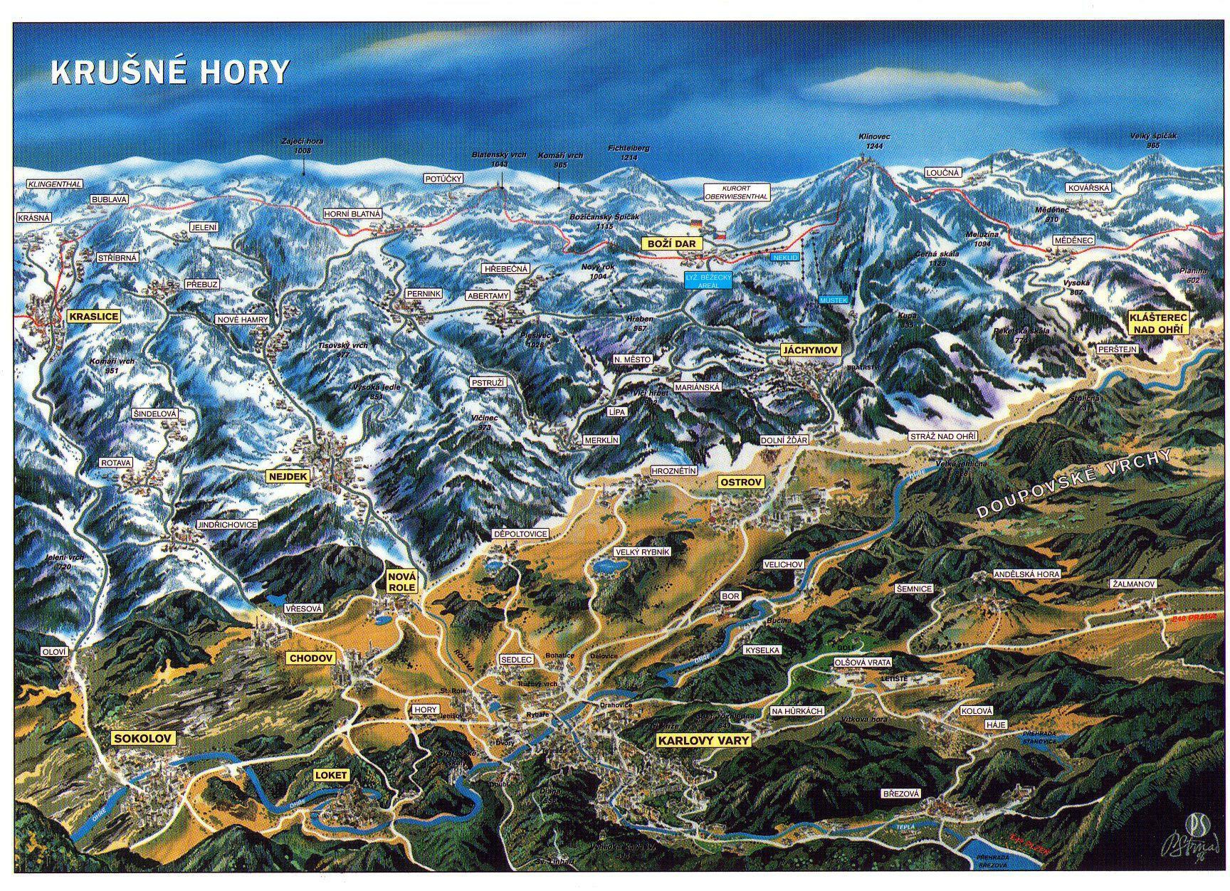 Ubytování v Horní Blatné v Krušných horách