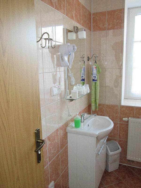 Koupelna na pokoji