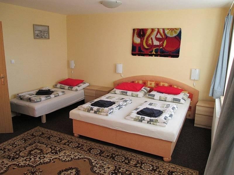 Ubytování v Horní Blatné ve čtyřlůžkovém pokoji