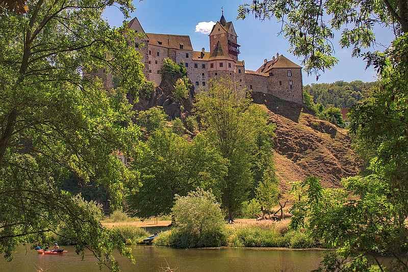 kam za deště - hrad Loket