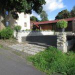 Ubytování v Horní Blatné - parkování v areálu penzionu