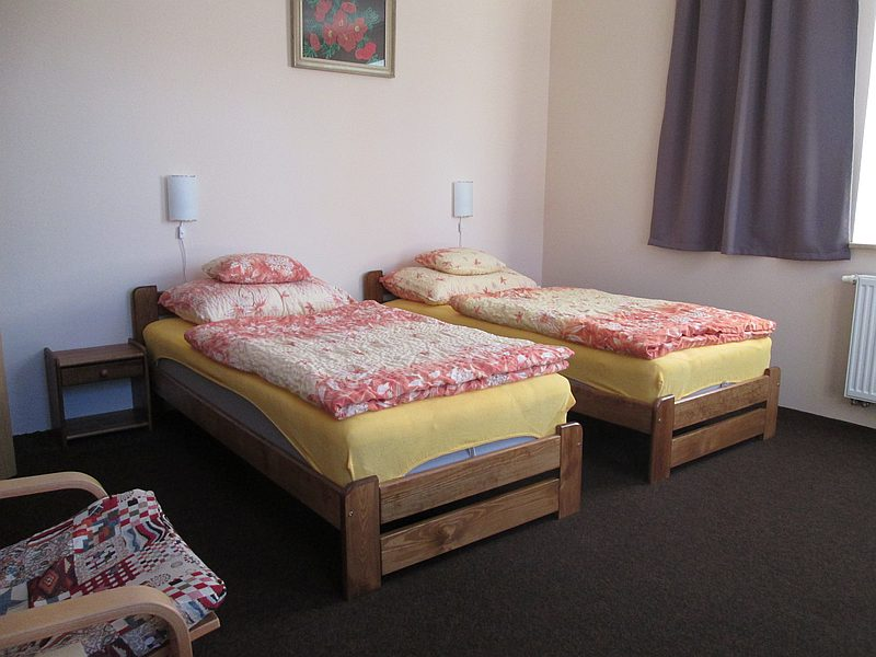Ubytování v Horní Blatné v dvoulůžkovém pokoji