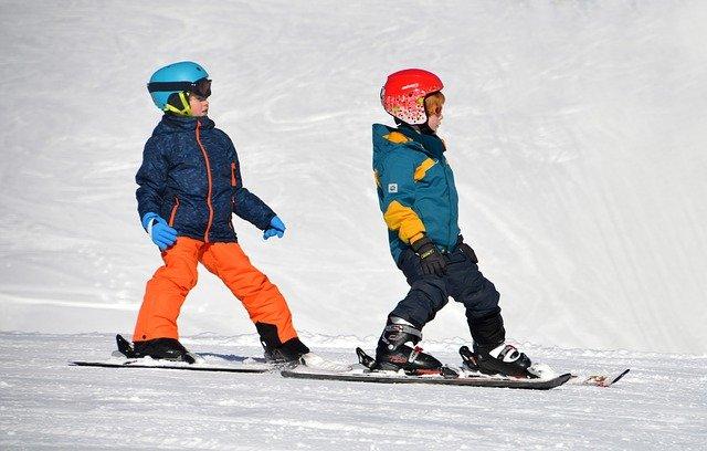 zimní sporty - sjezdové lyžování